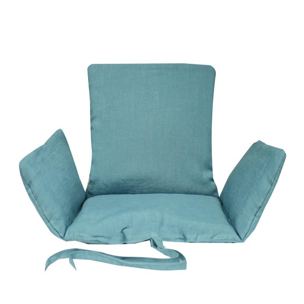 Coussin d 39 assise b b bleu horizon lab pour chambre for Chambre bleu horizon
