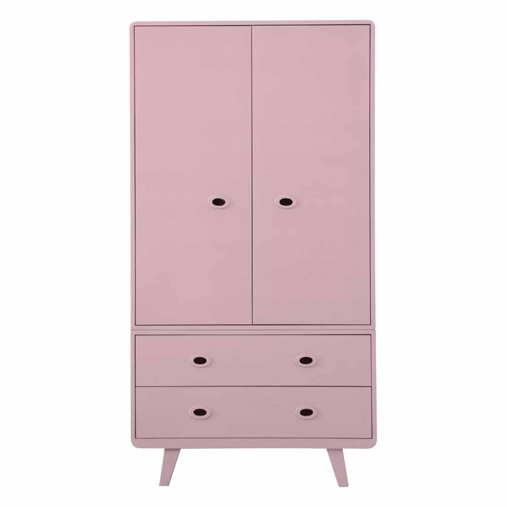 armoire toi et moi vieux rose laurette pour chambre. Black Bedroom Furniture Sets. Home Design Ideas
