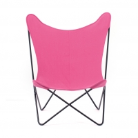 Chaise Papillon Rose
