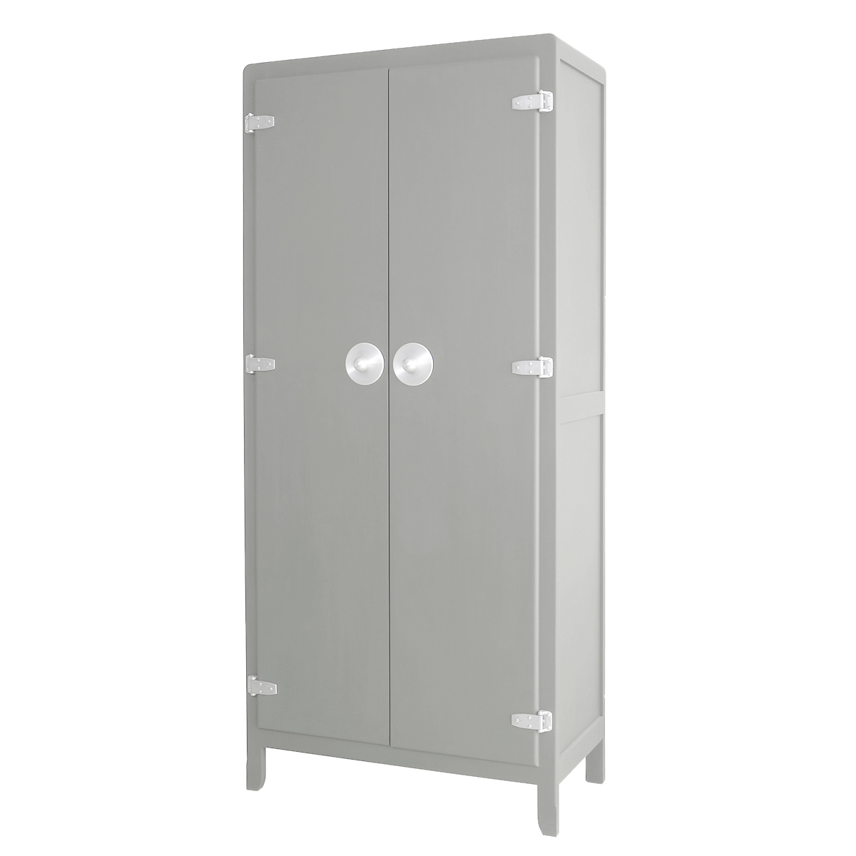 armoire malices gris laurette pour chambre enfant. Black Bedroom Furniture Sets. Home Design Ideas