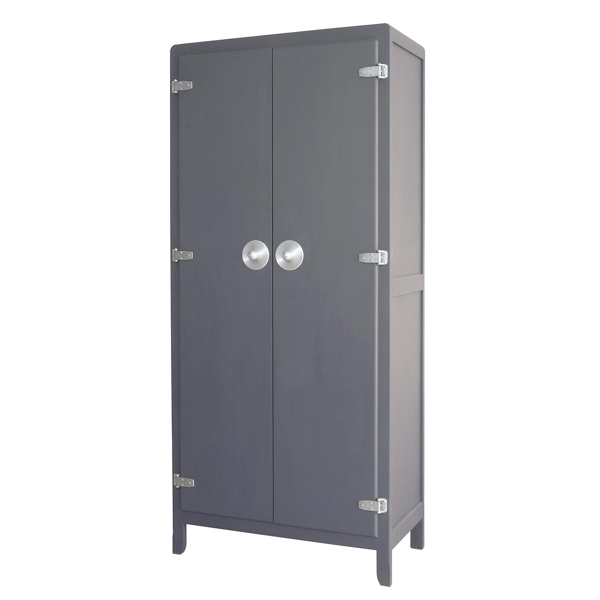 armoire malices gris souris laurette pour chambre enfant les enfants du design. Black Bedroom Furniture Sets. Home Design Ideas