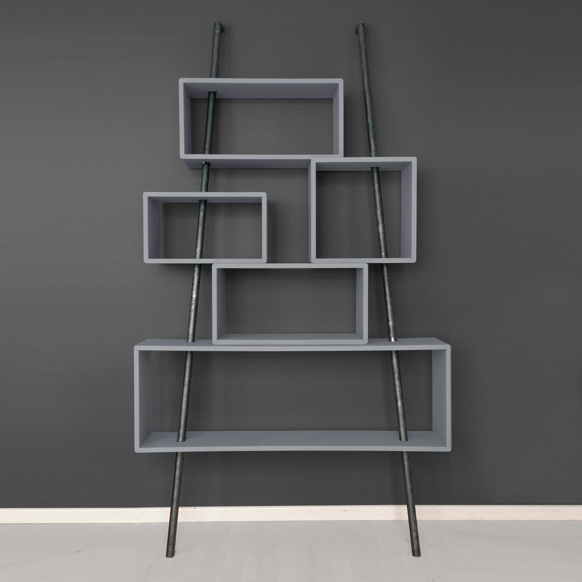 biblioth que la folie gris souris laurette pour chambre enfant les enfants du design. Black Bedroom Furniture Sets. Home Design Ideas
