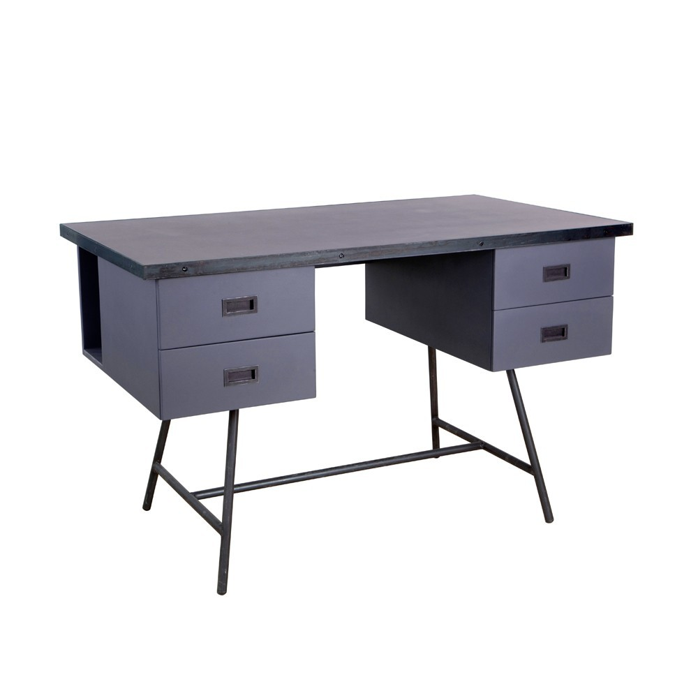 bureau l50 violet laurette pour chambre enfant les enfants du design. Black Bedroom Furniture Sets. Home Design Ideas