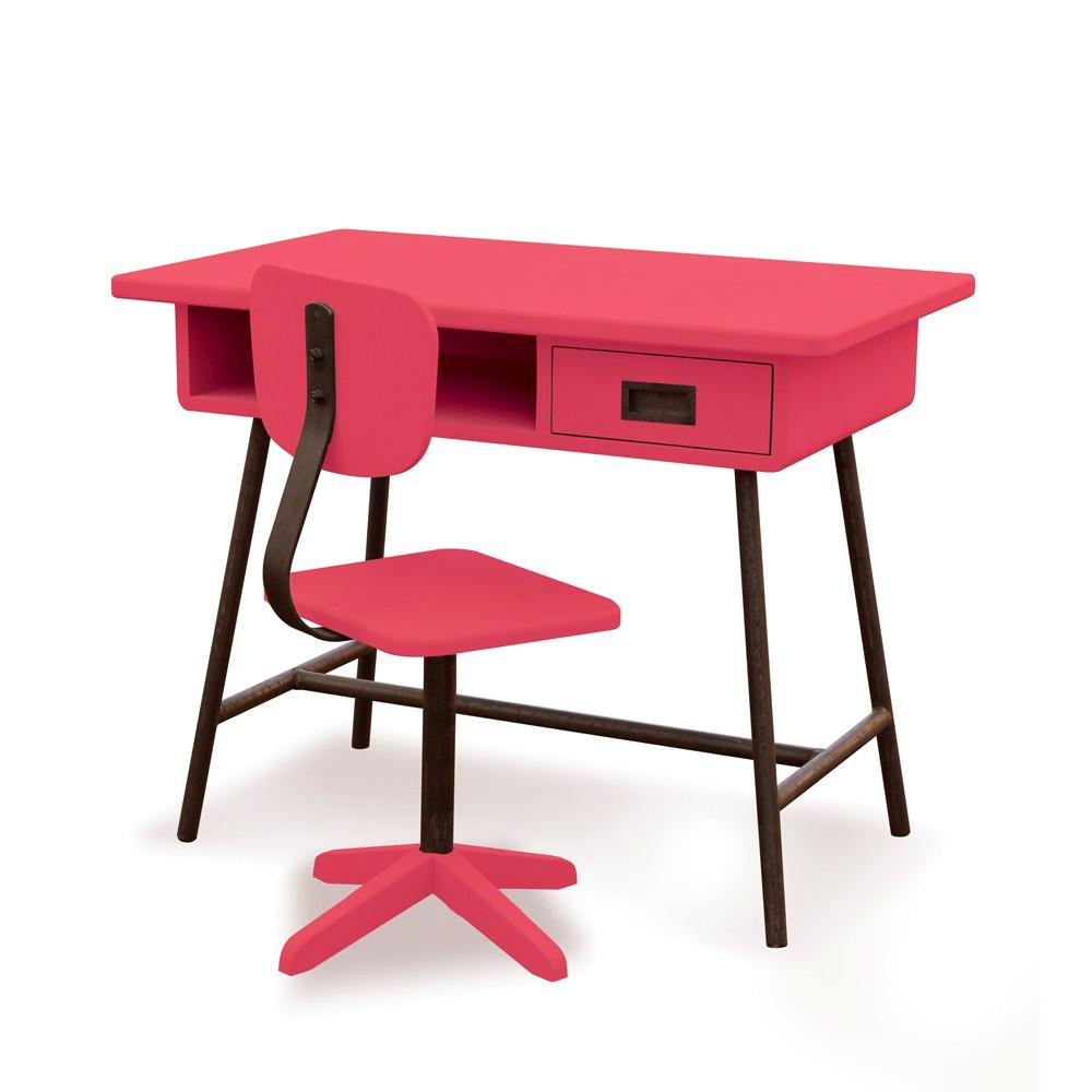 bureau junior fille le lit mezzanine avec bureau est. Black Bedroom Furniture Sets. Home Design Ideas