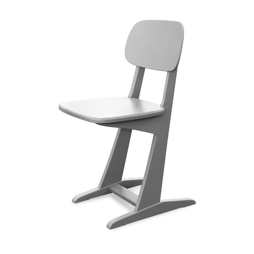 chaise patins gris clair laurette pour chambre enfant les enfants du design. Black Bedroom Furniture Sets. Home Design Ideas