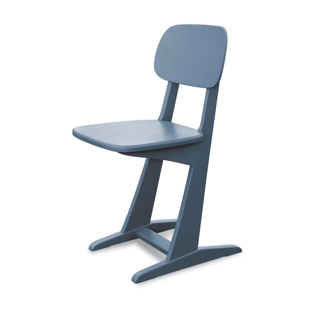 chaise patins gris souris laurette pour chambre enfant les enfants du design. Black Bedroom Furniture Sets. Home Design Ideas