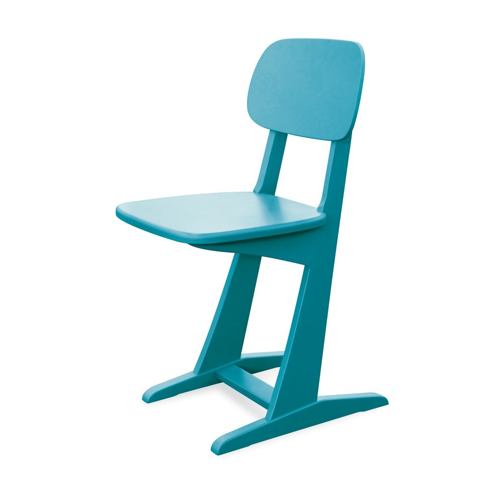 chaise patins turquoise laurette pour chambre enfant. Black Bedroom Furniture Sets. Home Design Ideas