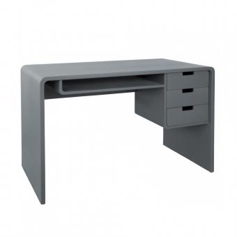 bureau l65 gris souris laurette pour chambre enfant les enfants du design. Black Bedroom Furniture Sets. Home Design Ideas