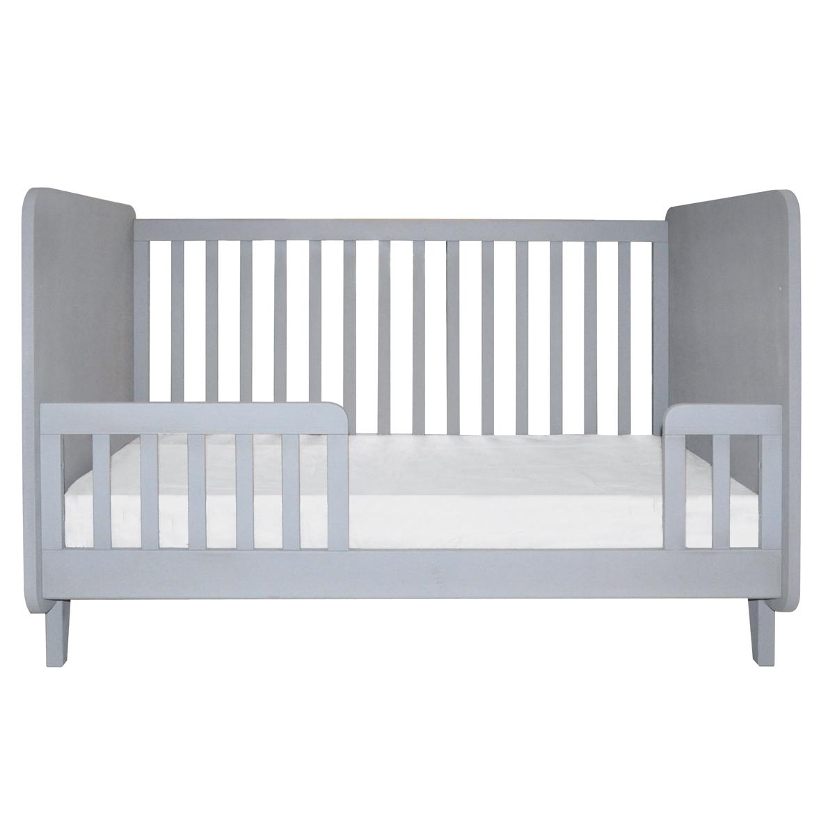 kit de conversion lit accroche coeur gris clair laurette pour chambre enfant les enfants du. Black Bedroom Furniture Sets. Home Design Ideas