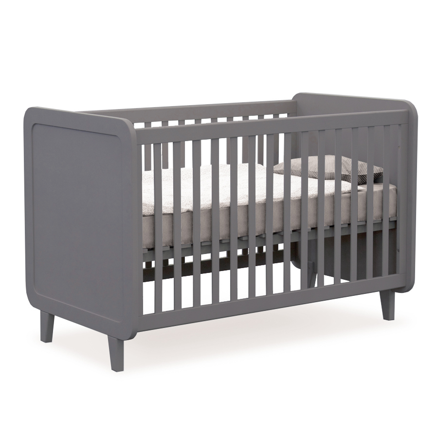 lit volutif l 39 accroche coeur gris souris laurette pour chambre enfant les enfants du design. Black Bedroom Furniture Sets. Home Design Ideas