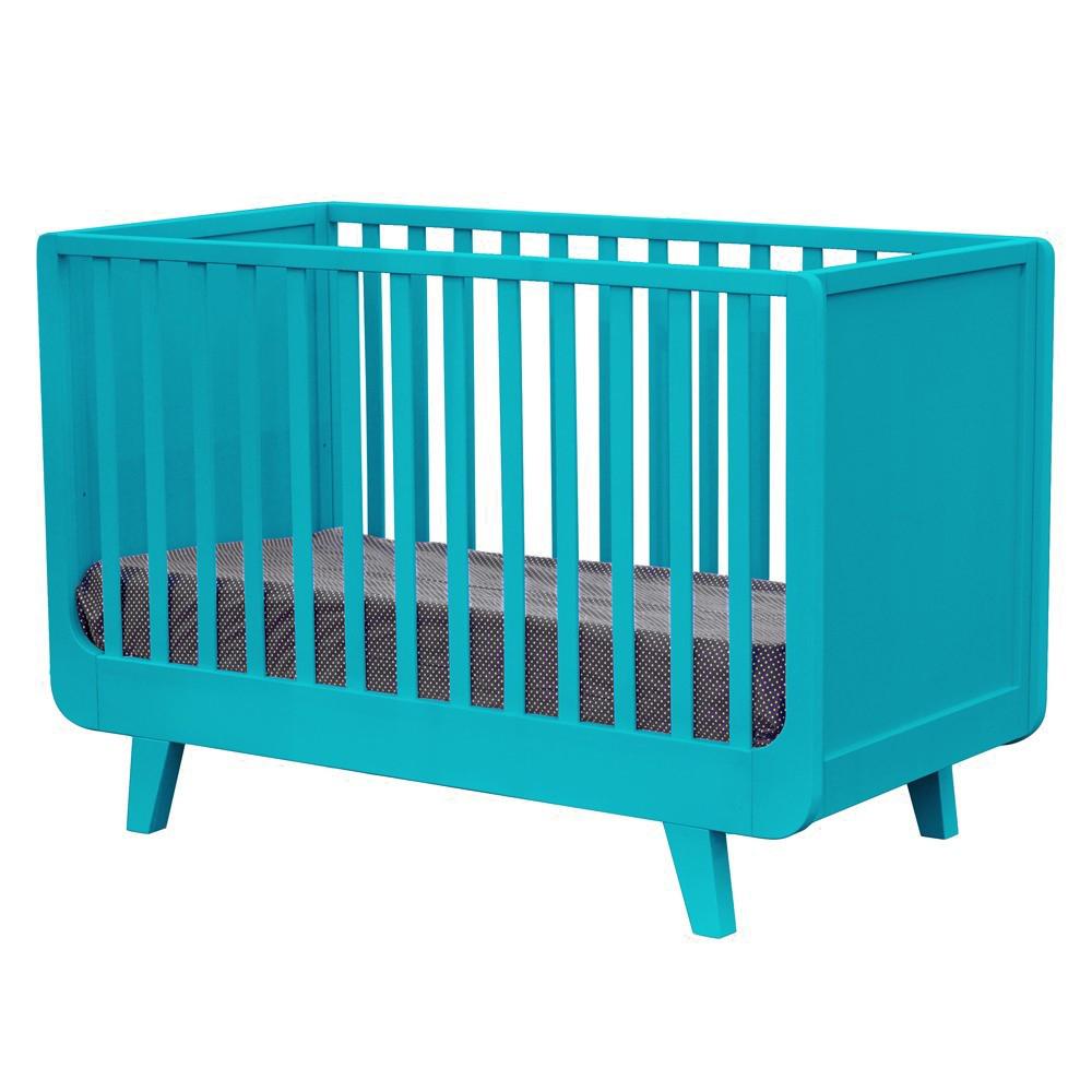 Lit évolutif joli môme turquoise laurette pour chambre enfant ...