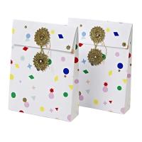2 pochettes cadeaux Confettis