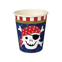 12 gobelets Pirate