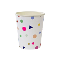 8 gobelets Confettis