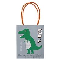 8 sacs Dinosaure