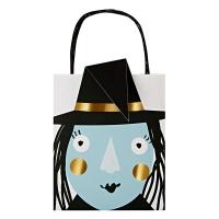 8 sacs Sorcière Halloween