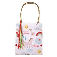8 sacs Licornes Arc-en-ciel