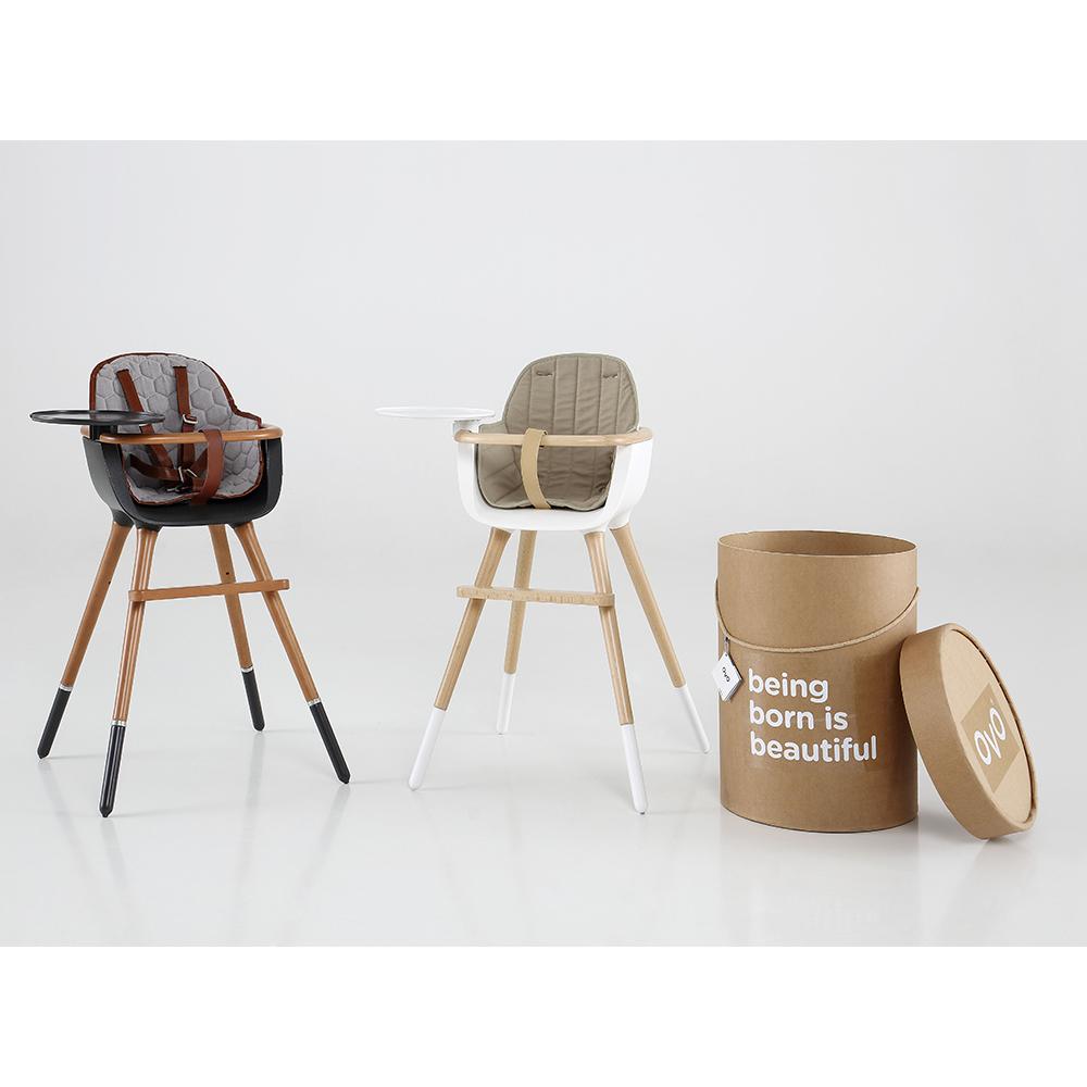 chaise haute ovo plus one micuna pour chambre enfant - les enfants