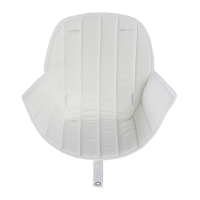 Coussin d'assise Ovo Luxe - Blanc