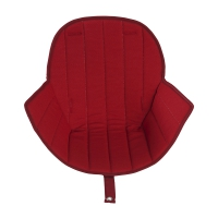 Coussin d'assise Ovo Luxe - Rouge