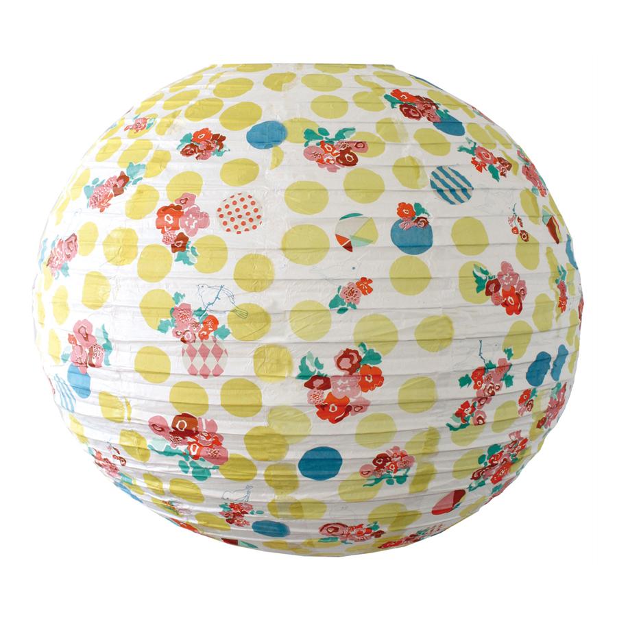 boule japonaise birdy flowers mimilou pour chambre enfant les enfants du design. Black Bedroom Furniture Sets. Home Design Ideas