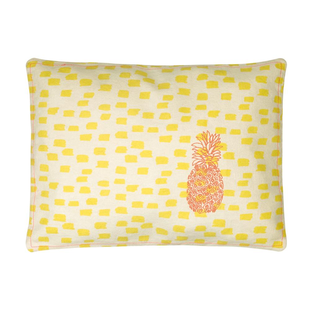 coussin brod ananas mimilou pour chambre enfant les enfants du design. Black Bedroom Furniture Sets. Home Design Ideas