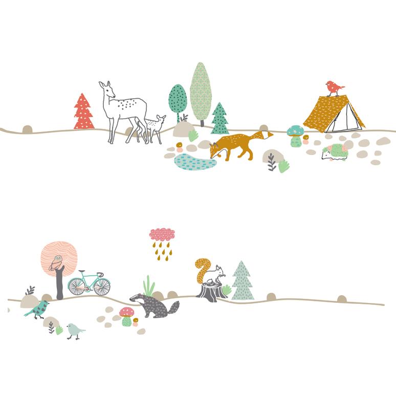 Stickers Frise For T Mimilou Pour Chambre Enfant Les Enfants Du Design