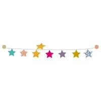Kit guirlande étoiles sticker