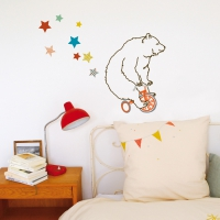 Sticker L'Ours Acrobate
