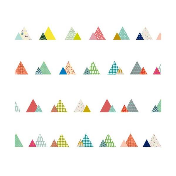 Sticker Frise Montagne Mimilou Pour Chambre Enfant Les