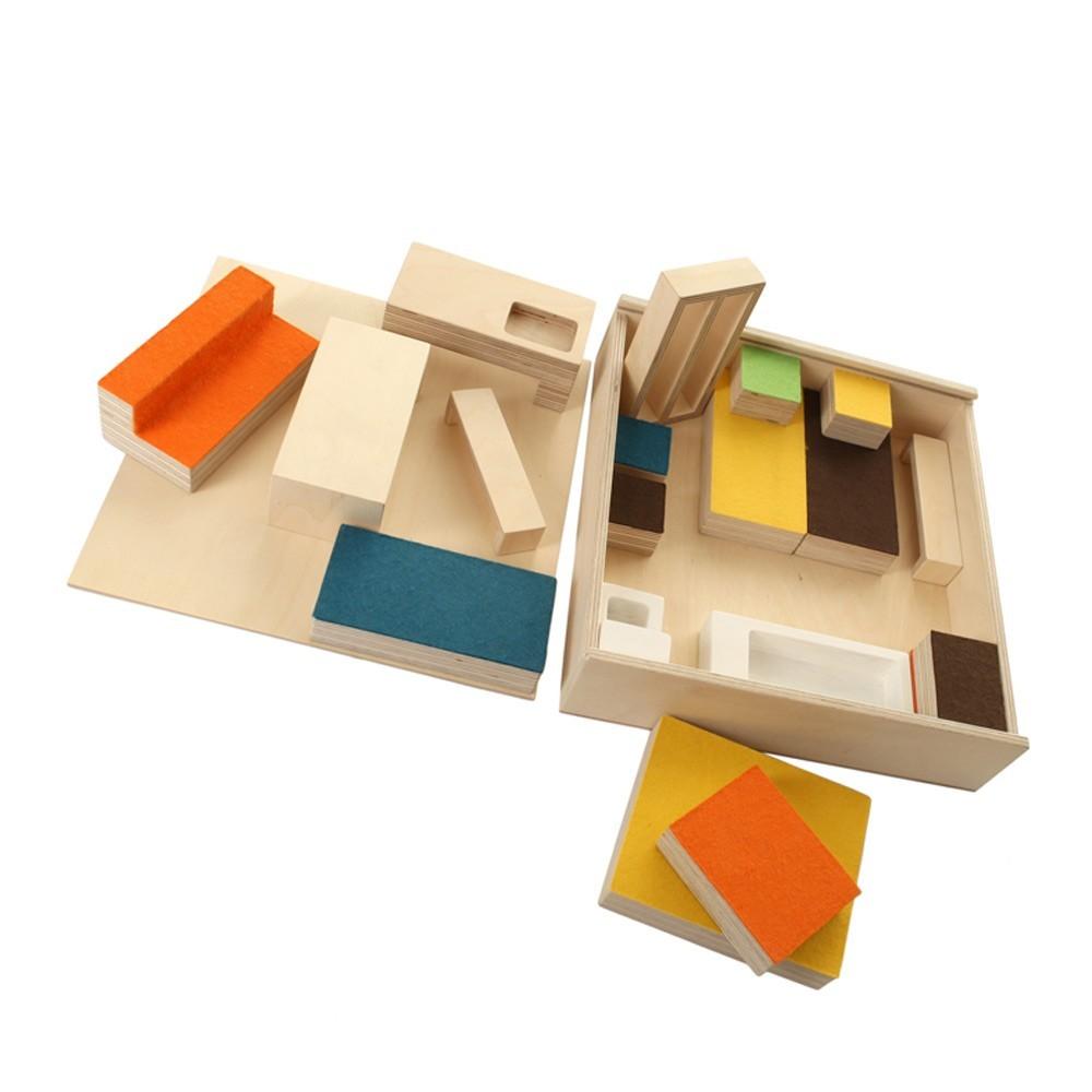 mobilier maison de poup en bois. Black Bedroom Furniture Sets. Home Design Ideas