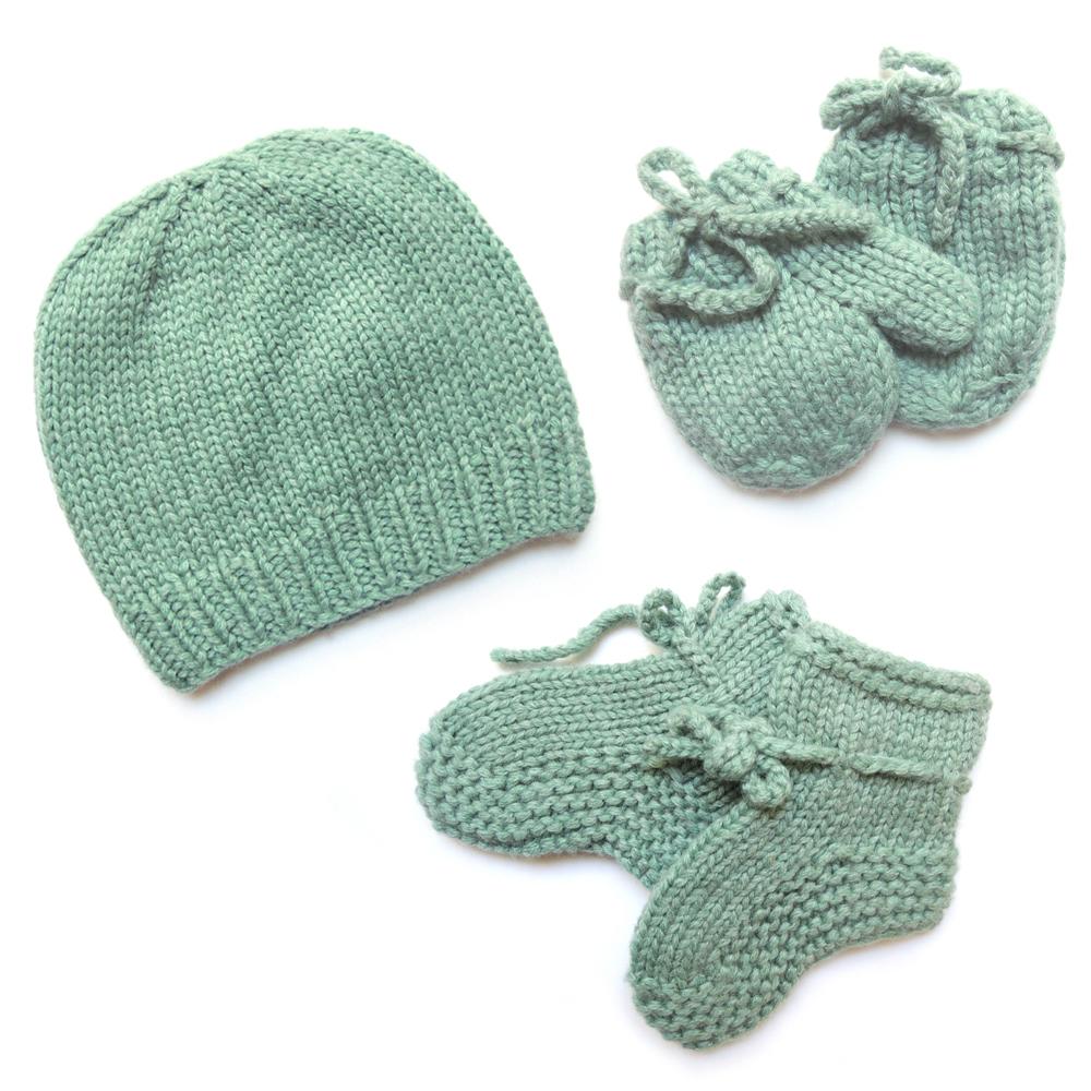 kit de naissance tricot vert d 39 eau moon et miel pour chambre enfant les enfants du design. Black Bedroom Furniture Sets. Home Design Ideas