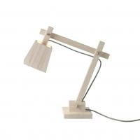 Lampe de bureau Wood - Fil vert