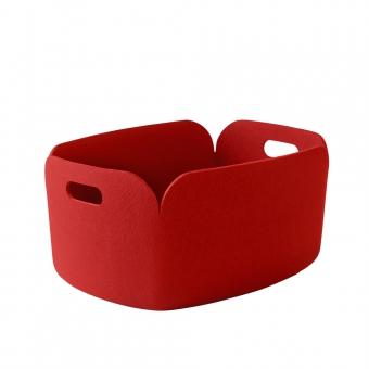 panier de rangement restore rouge muuto pour chambre enfant les enfants du design. Black Bedroom Furniture Sets. Home Design Ideas