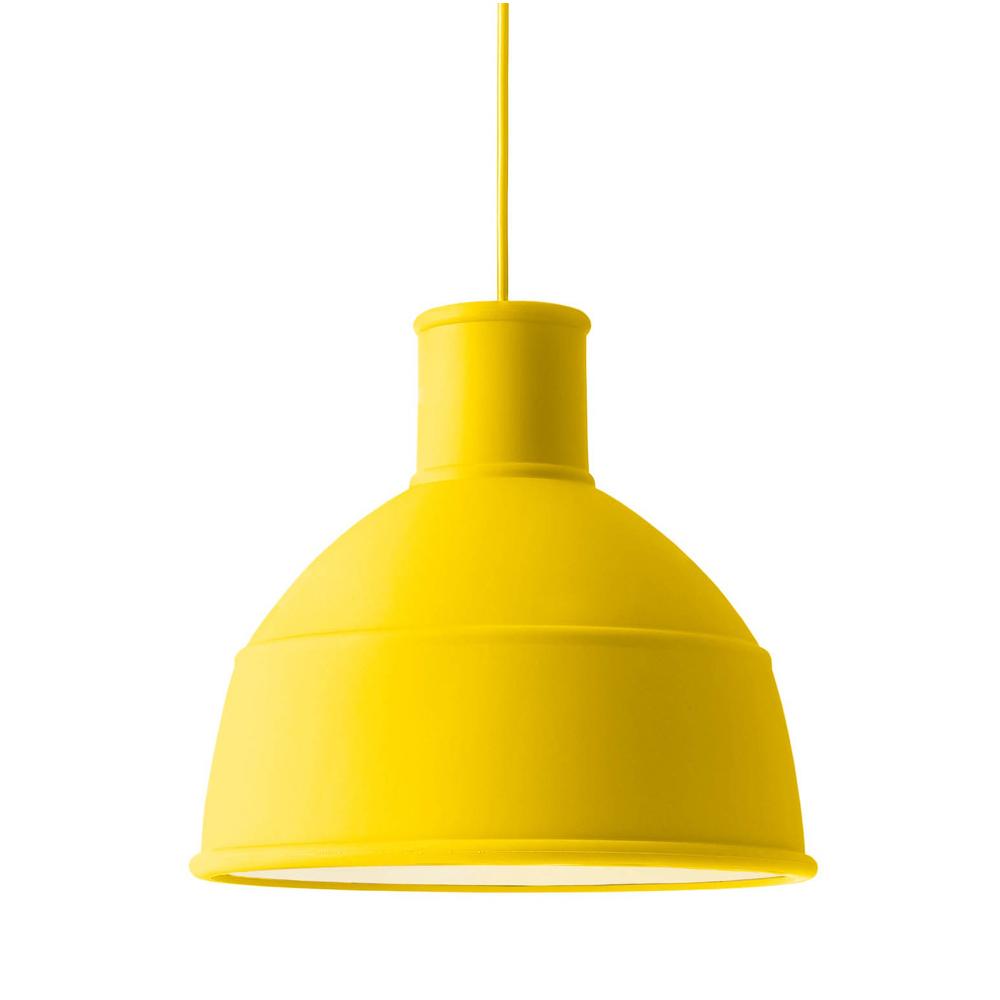 Suspension unfold jaune muuto pour chambre enfant les for Suspension chambre