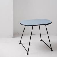 Table Capsule en feutre - Bleu Hiver
