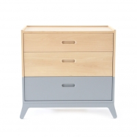 Commode 3 tiroirs Horizon - Gris