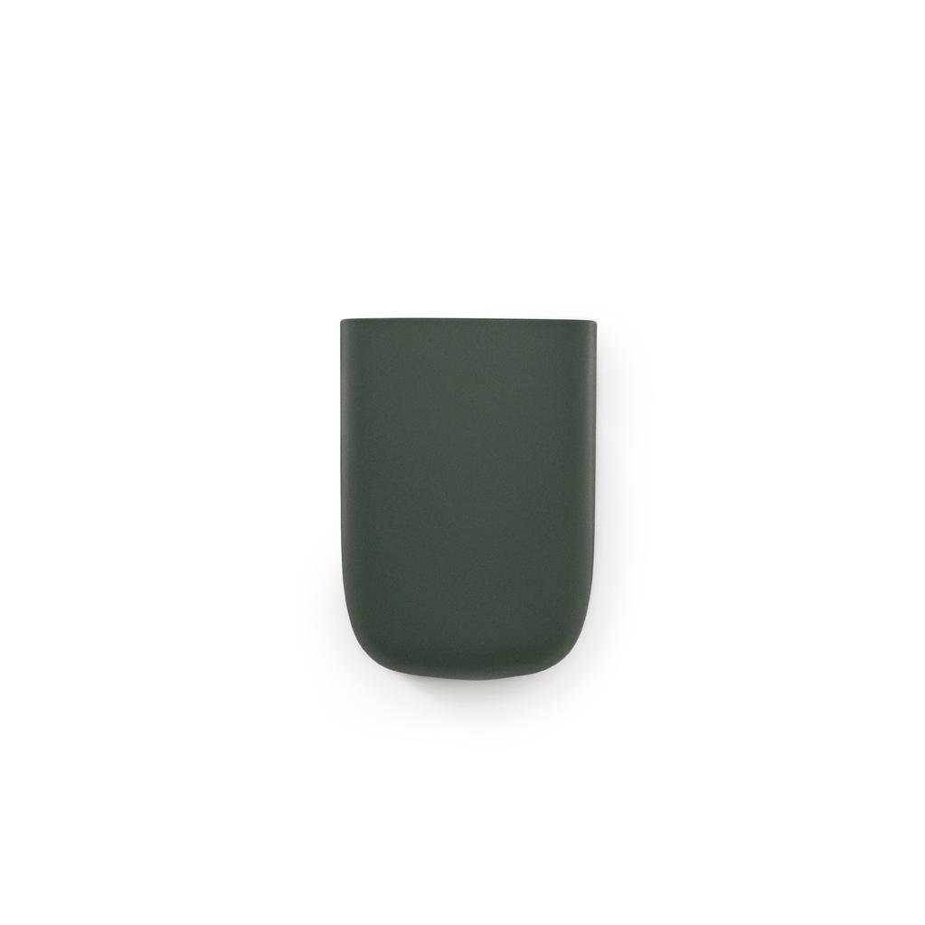 Vide poche mural pocket 3 vert sombre normann copenhagen for Vide poche mural plastique