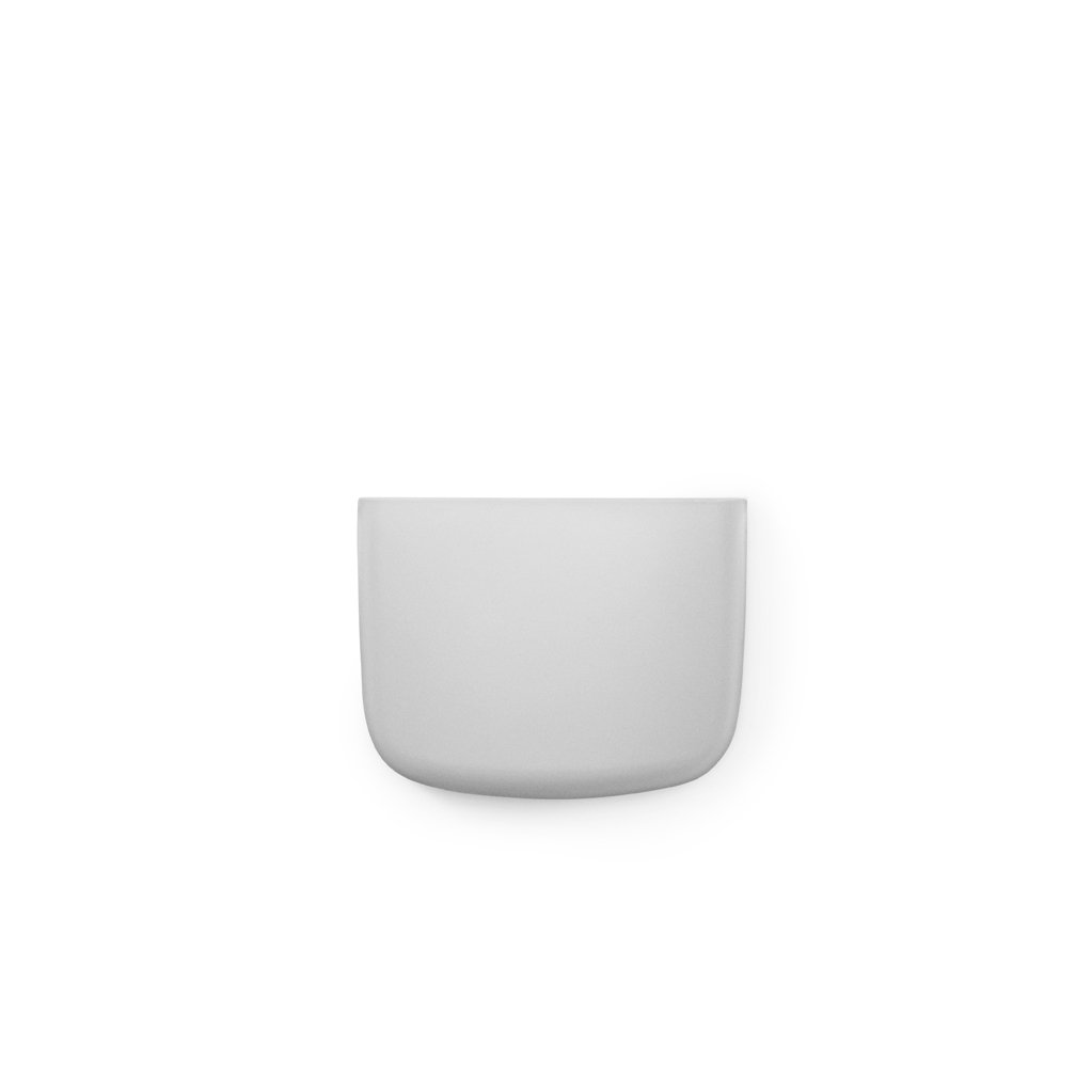 Vide poche mural pocket 2 gris clair normann copenhagen for Vide poche mural plastique