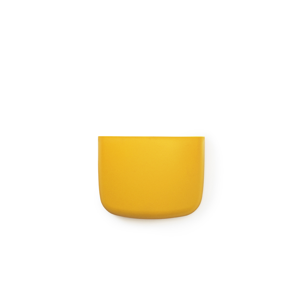 Vide poche mural pocket 2 jaune or normann copenhagen for Vide poche mural plastique