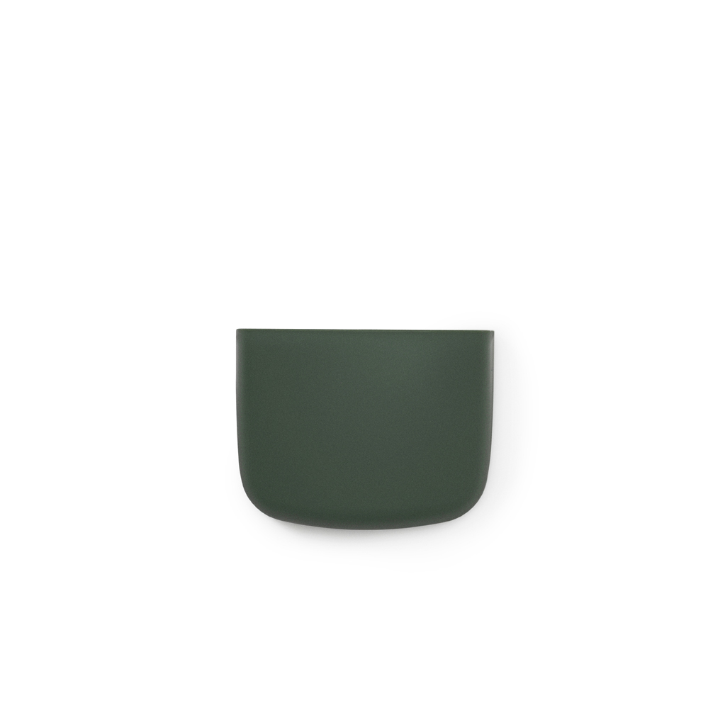 vide poche mural pocket 2 vert sombre normann copenhagen. Black Bedroom Furniture Sets. Home Design Ideas
