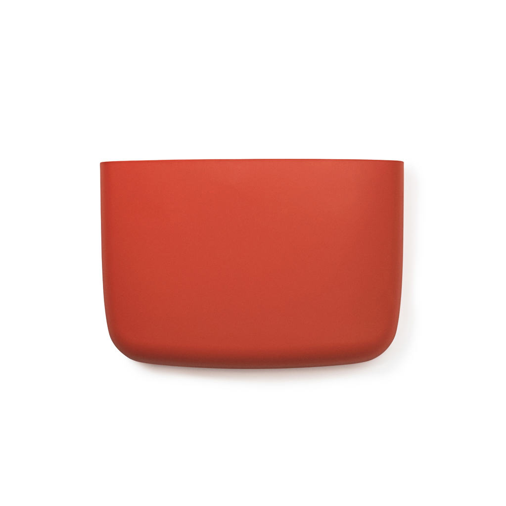 Vide Poche Mural Pocket 4 Orange Normann Copenhagen Pour