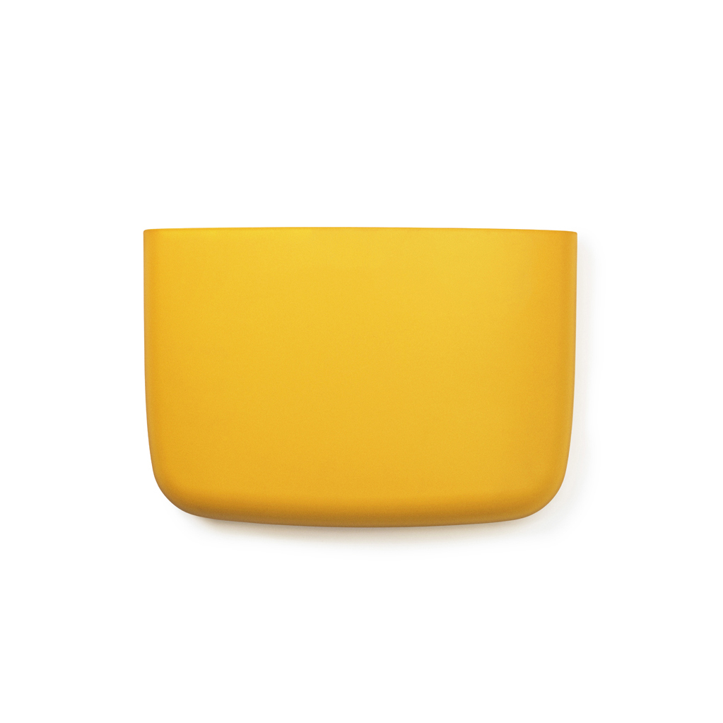 Vide Poche Mural Pocket 4 Jaune Or Normann Copenhagen