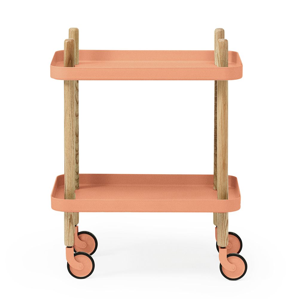 block table d 39 appoint corail normann copenhagen pour chambre enfant les enfants du design. Black Bedroom Furniture Sets. Home Design Ideas