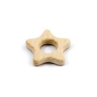 Anneau de dentition Star - Bois clair