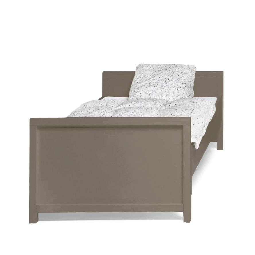 lit taupe. Black Bedroom Furniture Sets. Home Design Ideas