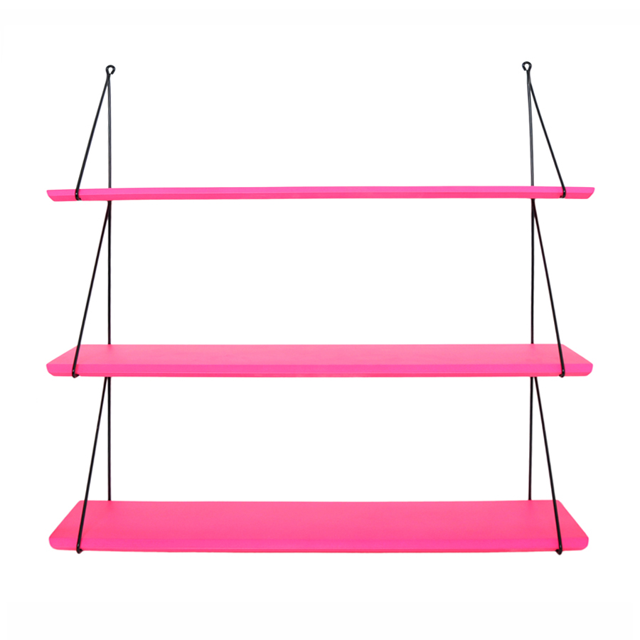 Etag re babou rose fluo rose in april pour chambre for Objet deco rose