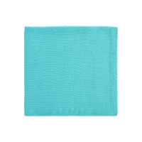Couverture Bou en tricot - Turquoise