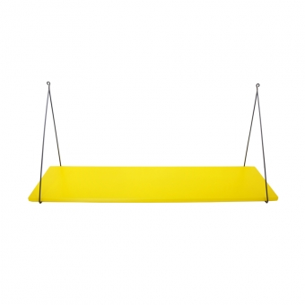 Etagère simple Babou - Jaune citron