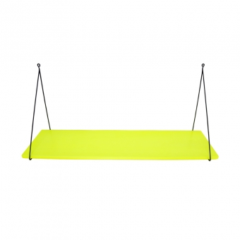 Etagère simple Babou - Jaune fluo